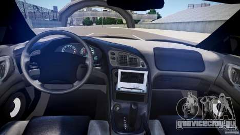 Mitsubishi Eclipse для GTA 4 вид сбоку