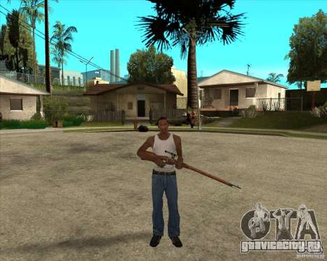 Оружие из call of duty для GTA San Andreas четвёртый скриншот
