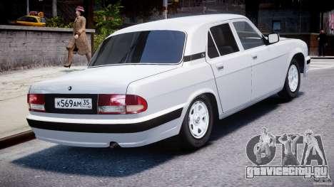 ГАЗ-31105 для GTA 4 вид сбоку