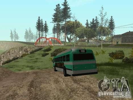 Bus из ГТА 4 для GTA San Andreas вид справа