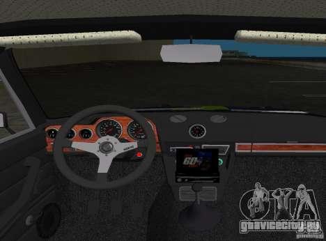 ВАЗ 2106 Tuning v3.0 для GTA Vice City вид сбоку