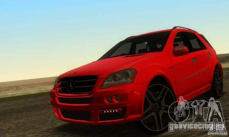 Mercedes-Benz ML63 AMG Brabus для GTA San Andreas