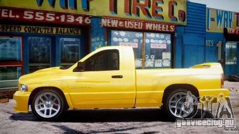 Dodge Ram SRT-10 2003 1.0 для GTA 4 вид изнутри
