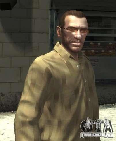 Новые очки для Нико - розовые для GTA 4 второй скриншот