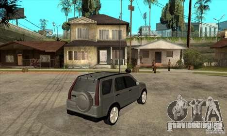 Honda CRV (MK2) для GTA San Andreas вид справа