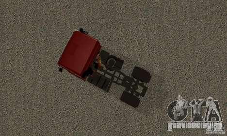 КамАЗ 5460 Skin 2 для GTA San Andreas вид сзади