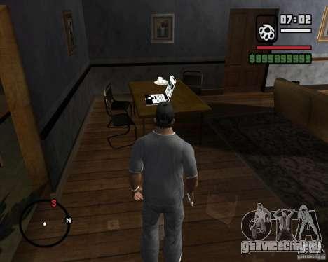 Возможность играть на ноутбуке для GTA San Andreas