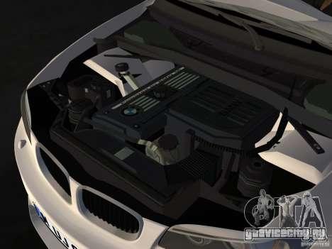 BMW 1M Coupe RHD для GTA Vice City вид изнутри