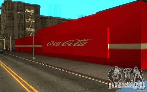 Coca Cola Market для GTA San Andreas второй скриншот