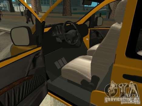 Mercedes-Benz Vito 2003 для GTA San Andreas вид сзади слева