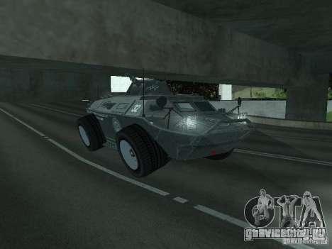 APC из GTA TBoGT IVF для GTA San Andreas вид сбоку