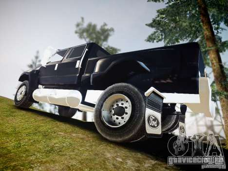Ford F-650 Super Crewzer для GTA 4 вид слева