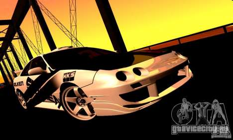 Acura Integra Type R для GTA San Andreas вид сзади слева