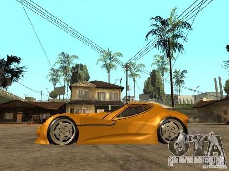 Gillet Vertigo для GTA San Andreas вид слева