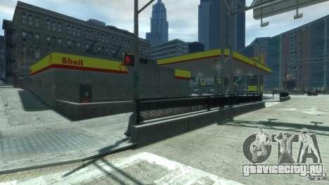 Shell Petrol Station V2 Updated для GTA 4 третий скриншот
