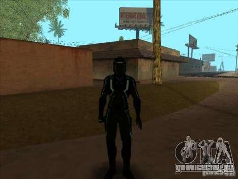 Персонаж из игры Tron: Evolution для GTA San Andreas четвёртый скриншот