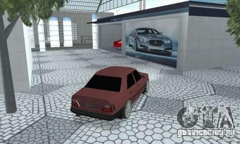 Mercedes-Benz 200D для GTA San Andreas вид слева