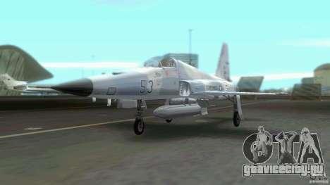 US Air Force для GTA Vice City вид справа