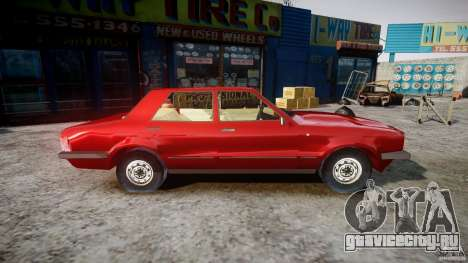 Ford Taunus для GTA 4 вид сзади