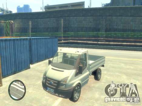 Ford Transit 2007 Pickup для GTA 4