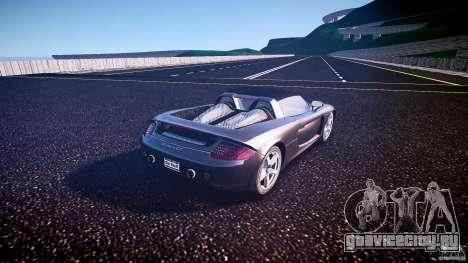 Porsche Carrera GT v.2.5 для GTA 4 вид сзади слева