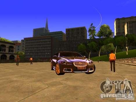 Jaguar XFR 2011 для GTA San Andreas вид справа