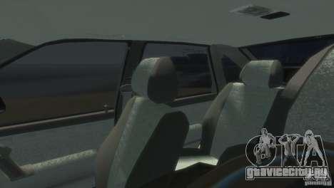 ВАЗ 2112 для GTA 4 вид сзади