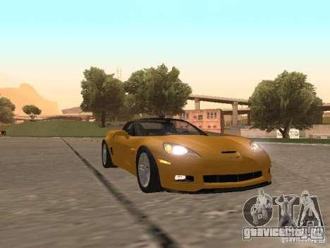 Chevrolet Corvette Z06 для GTA San Andreas вид слева