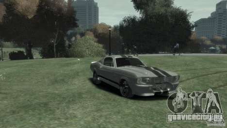 Ford Shelby GT500 Eleanor для GTA 4 вид справа