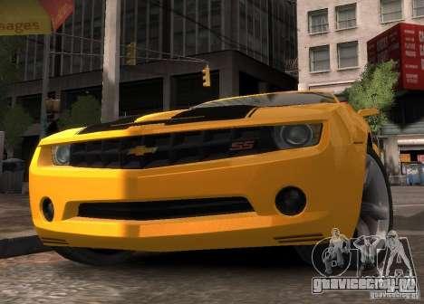 Chevrolet Camaro concept 2007 для GTA 4 вид справа