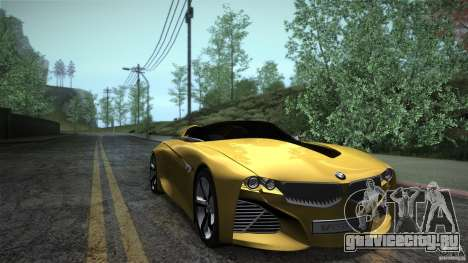 BMW Vision Connected Drive Concept для GTA San Andreas вид сзади