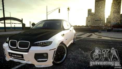 BMW Х6 Hamann для GTA 4