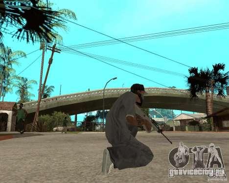 AUG HBAR с коллиматорным прицелом для GTA San Andreas третий скриншот