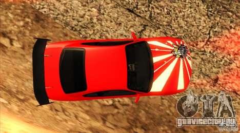 Nissan Silvia S15 для GTA San Andreas вид сверху