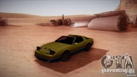 Pontiac Firebird Trans Am для GTA San Andreas