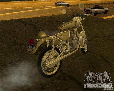 Honda Dream 50 для GTA San Andreas вид слева