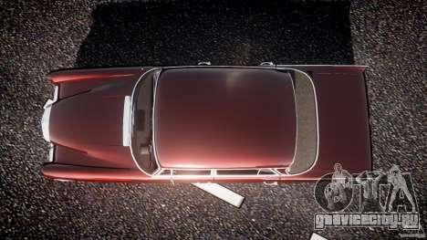Mercedes-Benz W111 v1.0 для GTA 4 вид справа