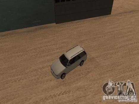 Volkswagen Passat B4 для GTA San Andreas вид сверху