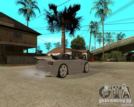 BMW Z4 Supreme Pimp TUNING volume II для GTA San Andreas вид справа