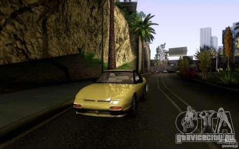 Nissan 180SX Kouki для GTA San Andreas вид сверху