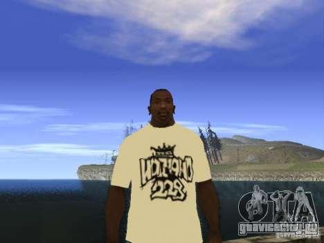 Футболка НоГГано228 и АК 47 для GTA San Andreas