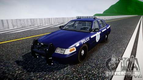 Ford Crown Victoria Homeland Security [ELS] для GTA 4