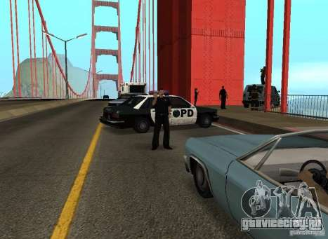 Самоубийца На Мосту для GTA San Andreas пятый скриншот