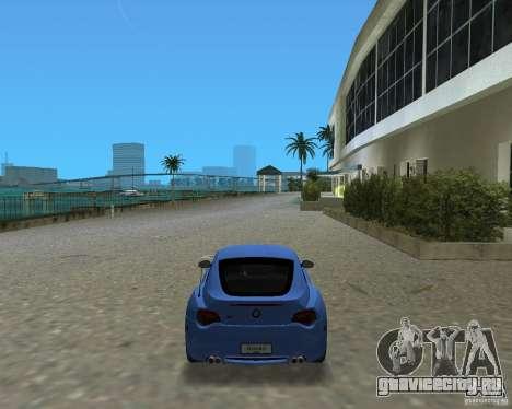 BMW Z4 для GTA Vice City вид слева