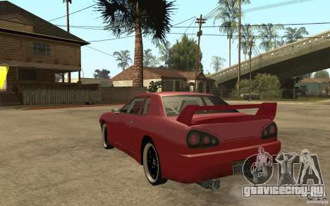 Drift Elegy для GTA San Andreas вид сзади слева