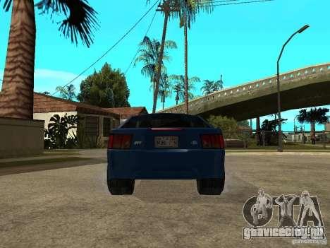 Ford Mustang Cobra R Tuneable для GTA San Andreas вид сзади слева