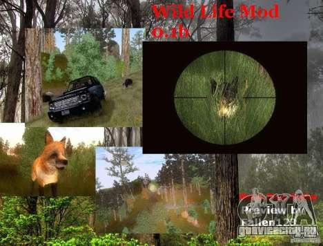 Wild Life Mod 0.1b для GTA San Andreas
