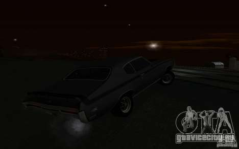 Buick GSX 1970 для GTA San Andreas вид сверху