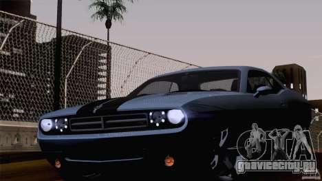 Dodge Challenger SRT8 для GTA San Andreas вид слева
