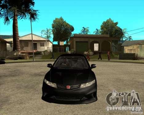2009 Honda Civic Type R Mugen Tuning для GTA San Andreas